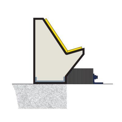 SEAL-TITE™ Unique Profile. (Top View Cross Section)