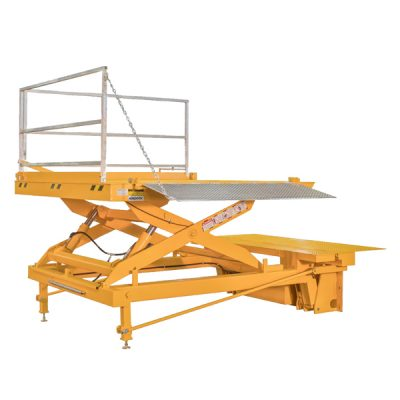 Vertical Storing Dock Lift