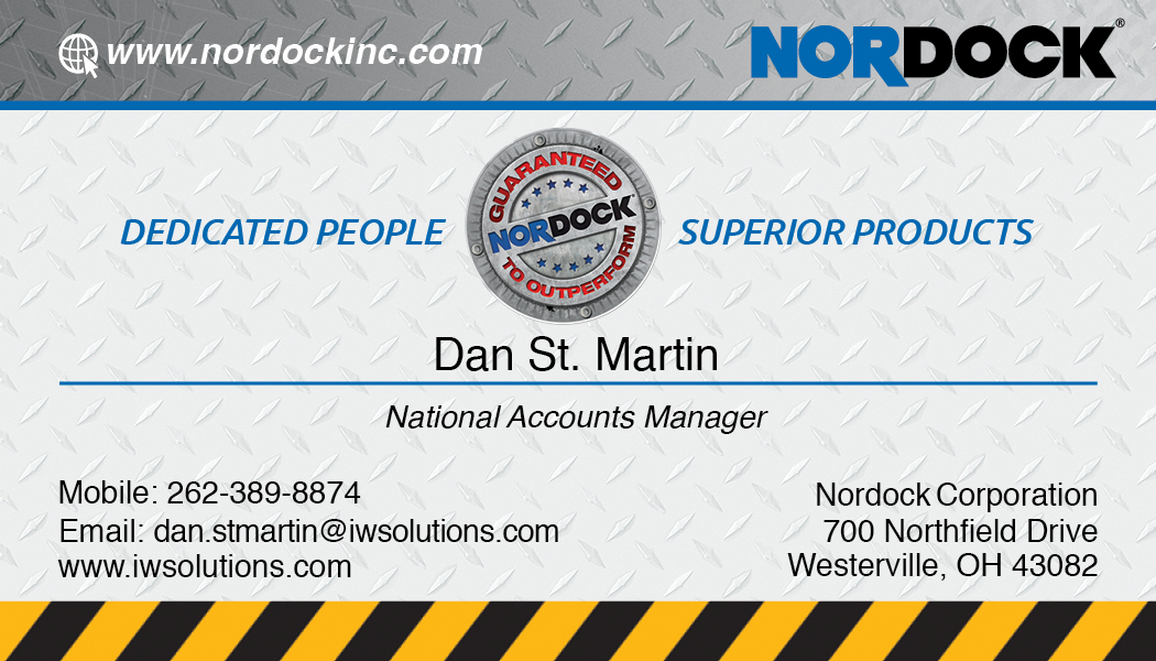 Dan St. Martin Business Card