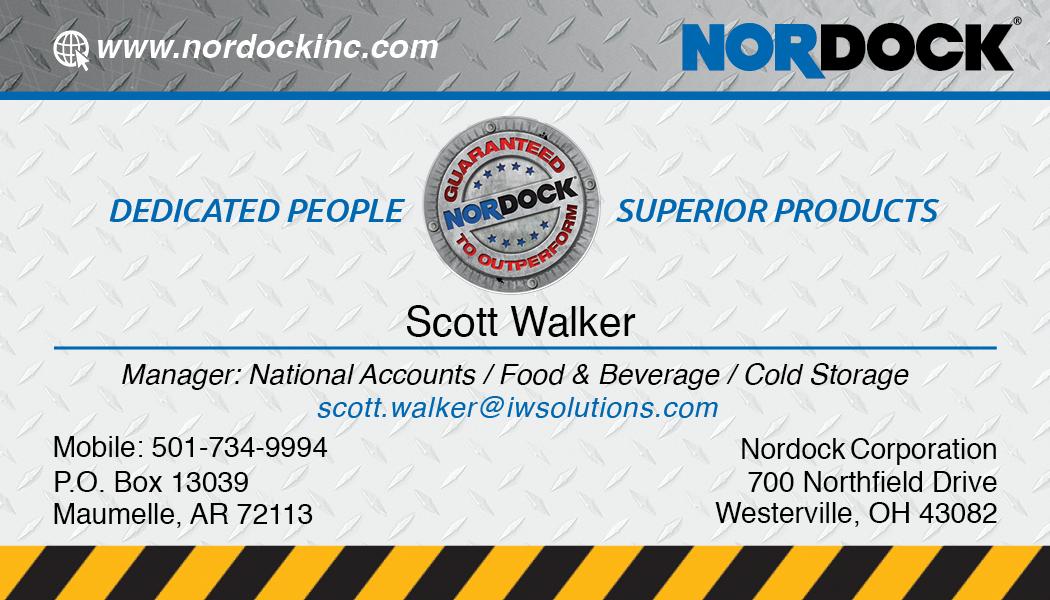 Scott Walker Business Card