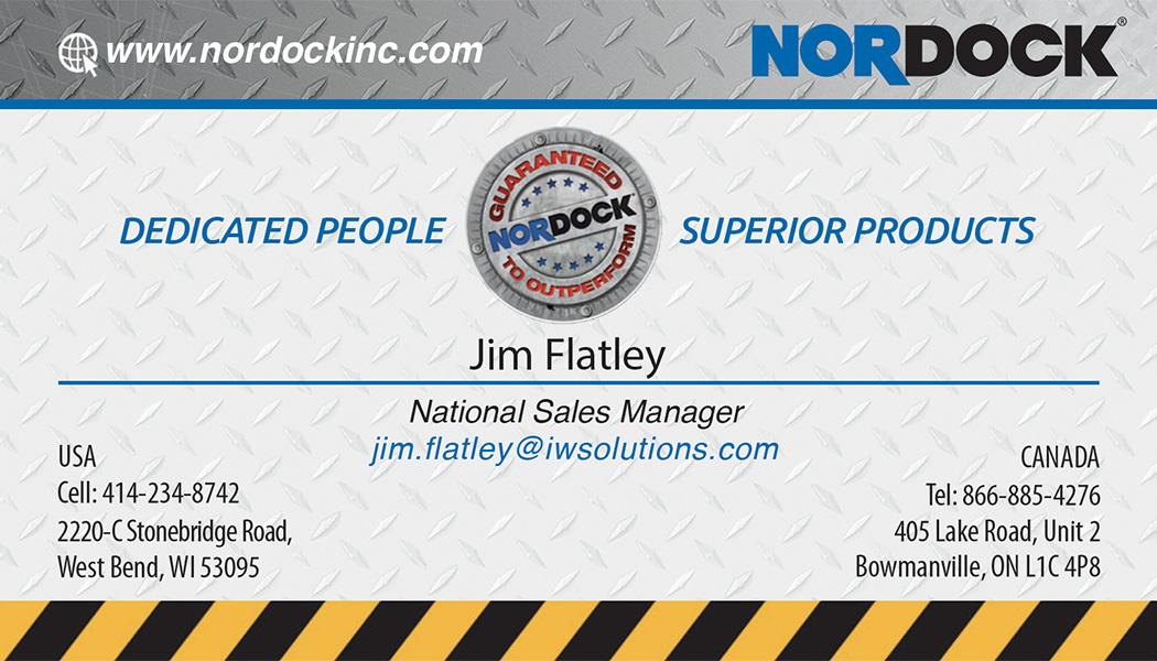 Jim Flatley Business Card