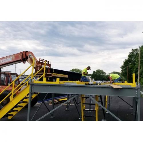 Auto Inspection Platform Installation 03