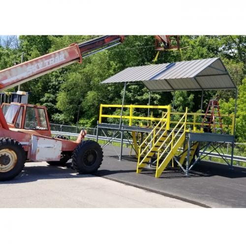 Auto Inspection Platform Installation 07